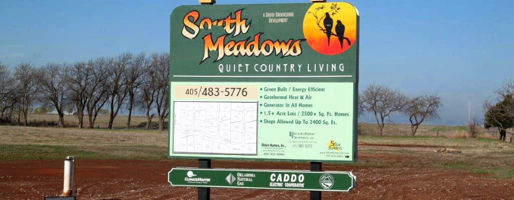 South Meadows Addition in Tuttle, OK